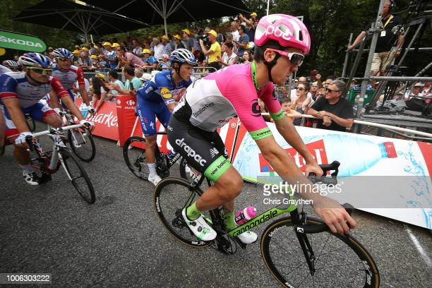 Arrival / Thomas Scully of Australia and Team EF Education First Drapac P/B Cannondale / Niki Terpstra of The Netherlands and Team QuickStep Floors /...