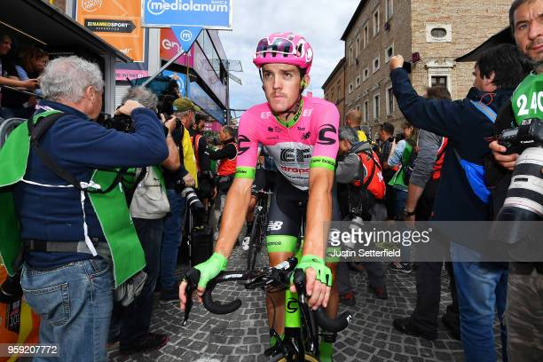 Arrival / Thomas Scully of New Zealand and Team EF Education FirstDrapac p/b Cannondale / during the 101st Tour of Italy 2018 Stage 11 a 156km stage...