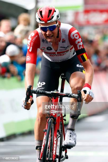 Arrival / Tim Wellens of Belgium and Team Lotto Soudal / Celebration / during the 15th Binck Bank Tour 2019, Stage 4 a 96,2km stage from Houffalize...