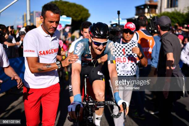 Arrival / Tim Wellens of Belgium and Team Lotto Soudal / during the 101th Tour of Italy 2018 Stage 4 a 198km stage from Catania to Caltagirone 572m /...