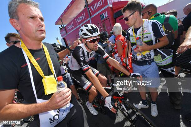 Arrival / Tom Dumoulin of The Netherlands and Team Sunweb / Disappointment / during 105th Tour de France 2018 Stage 6 a 181km stage from Brest to...