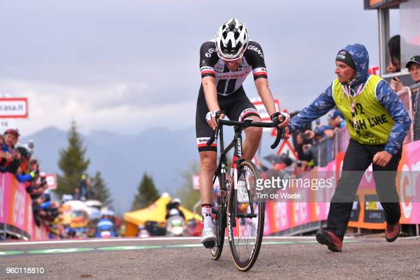 Arrival / Tom Dumoulin of The Netherlands and Team Sunweb / during the 101st Tour of Italy 2018, Stage 14 a 186km stage from San Vito Al Tagliamento...