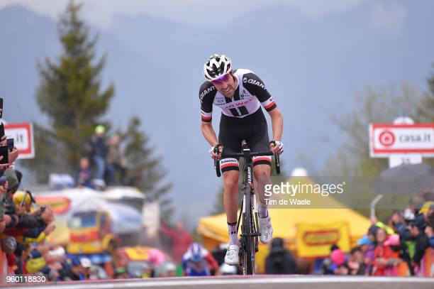 Arrival / Tom Dumoulin of The Netherlands and Team Sunweb / during the 101st Tour of Italy 2018 Stage 14 a 186km stage from San Vito Al Tagliamento...