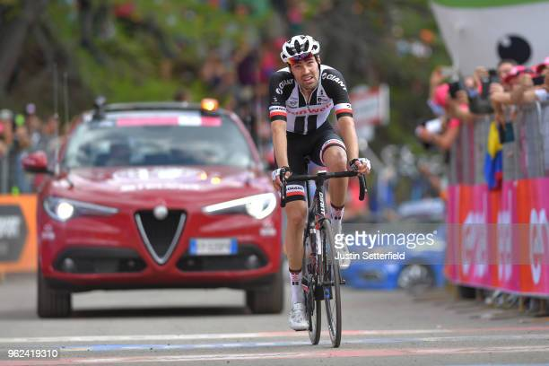 Arrival / Tom Dumoulin of The Netherlands and Team Sunweb / Disappointment / during the 101st Tour of Italy 2018 Stage 19 a 185km stage from Venaria...