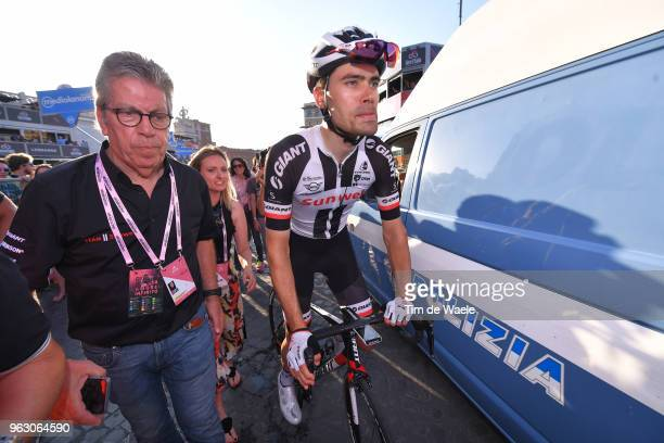 Arrival / Tom Dumoulin of The Netherlands and Team Sunweb / during the 101st Tour of Italy 2018, Stage 21 a 115km stage from Rome to Rome / Giro...
