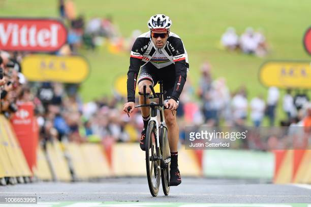 Arrival / Tom Dumoulin of The Netherlands and Team Sunweb / Warm-up / during the 105th Tour de France 2018, Stage 20 a 31km Individual Time Trial...