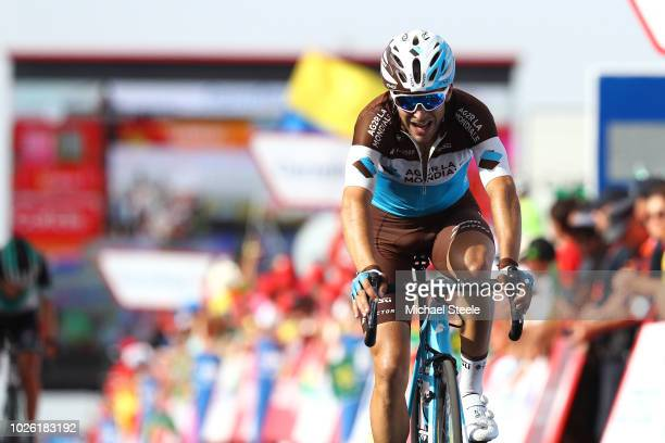 Arrival / Tony Gallopin of France and Team AG2R La Mondiale / during the 73rd Tour of Spain 2018, Stage 9 a 200,8km stage from Talavera de la Reina...