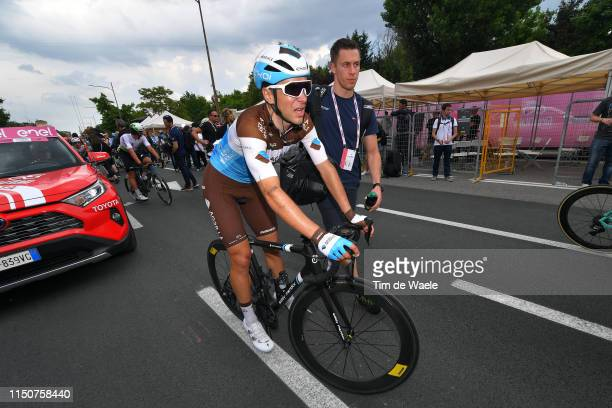 Arrival / Tony Gallopin of France and Team AG2R La Mondiale / during the 102nd Giro d'Italia 2019, Stage 10 a 145 km stage from Ravenna to Modena /...