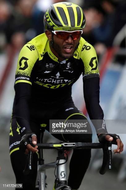 Arrival / Tsgabu Grmay of Ethiopia and Team Mitchelton - Scott / during the 59th Itzulia-Vuelta Ciclista Pais Vasco 2019, Stage 3 a 191,4 km stage...