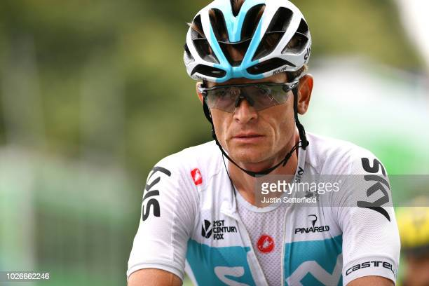 Arrival / Vasil Kiryienka of Belarus and Team Sky / during the 15th Tour of Britain 2018, Stage 3 a 128km stage from Bristol to Bristol 144m / OVO...