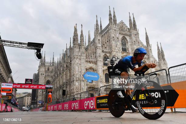 Arrival / Victor Campenaerts of Belgium and NTT Pro Cycling Team / Duomo di Milano / Milan Cathedral / during the 103rd Giro d'Italia 2020, Stage 21...
