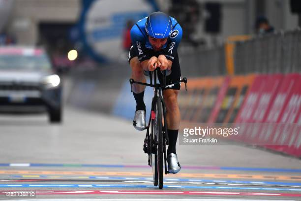 Arrival / Victor Campenaerts of Belgium and NTT Pro Cycling Team / during the 103rd Giro d'Italia 2020, Stage 21 a 15,7km Individual time trial from...