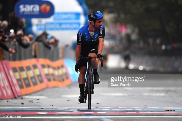 Arrival / Victor Campenaerts of Belgium and NTT Pro Cycling Team / Disappointment / during the 103rd Giro d'Italia 2020, Stage 19 a 124,5km stage...