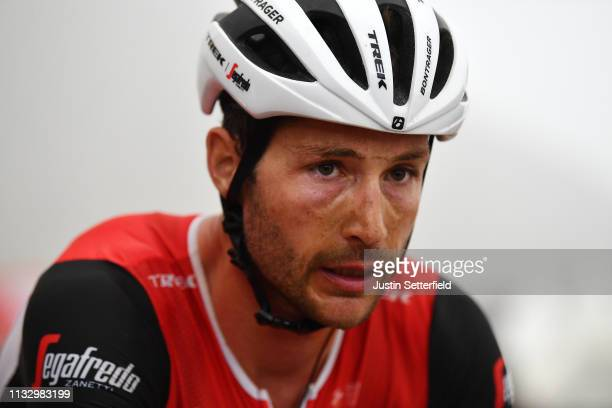Arrival / William Clarke of Australia and Team Trek-Segafredo / during the 5th UAE Tour 2019, Stage 6 a 180km stage from Ajman to Jebel Jais 1475m /...