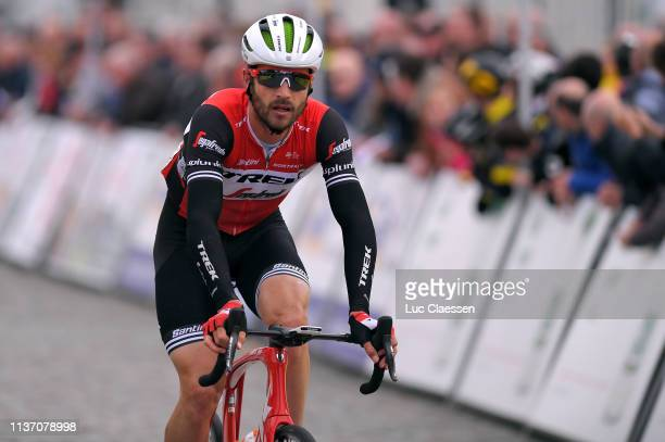 Arrival / William Clarke of Australia and Team Trek-Segafredo / during the 74th Nokere Koerse - Danilith Classic 2019 a 195,6km race from Deinze to...