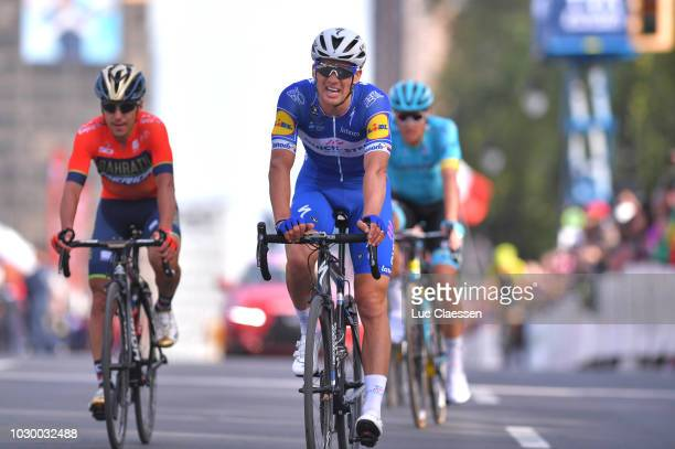 Arrival / Zdenek Stybar of Czech Republic and Team QuickStep Floors /during the 9th Grand Prix Cycliste de Montreal 2018 a 1952km race from Montreal...