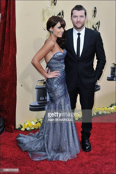 Arrivals at the 82nd Academy Awards for the Oscars Ceremony, Sam Worthington, Natalie Mark in Los Angeles, United States on March 07th, 2010.