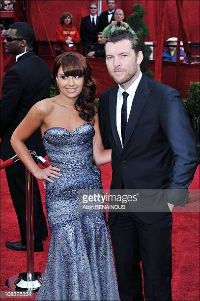 Arrivals at the 82nd Academy Awards for the Oscars Ceremony Sam Worthington Natalie Mark in Los Angeles United States on March 07th 2010