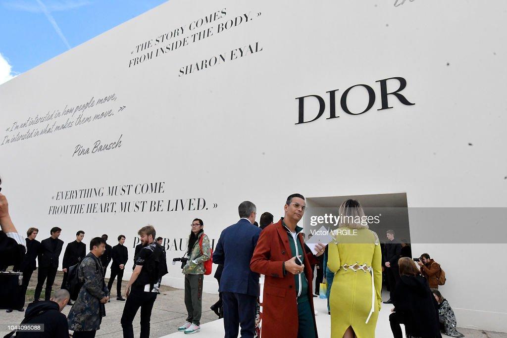 Christian Dior : Runway - Paris Fashion Week Womenswear Spring/Summer 2019 : ニュース写真