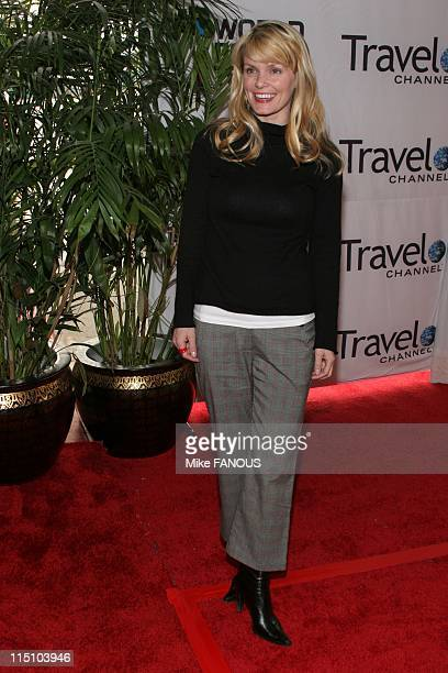 Arrivals at World Poker Tour Invitational at the Commerce Casino in Los Angeles United States on February 23 2005 Kelly Packard