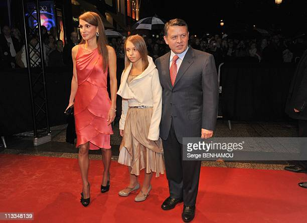 Arrivals Of Quantum Of Solace The New James Bond With Daniel Craig And Olga Kurylenko In Paris France On October 30 2008 Queen Rania of Jordan...
