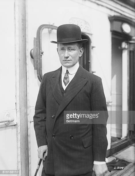 Arrivals On The S S Lusitania Guglielmo Marconi Italian wireless inventor