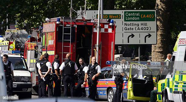 Arrive at Shepherds Bush tube station in London 21 July 2005 after a series explosion on the London transport systemLondon police chief Ian Blair...