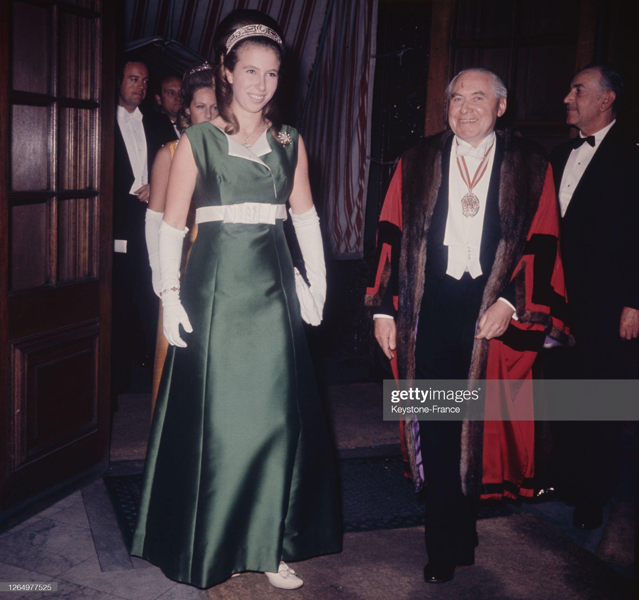 La princesse Anne en Autriche : News Photo