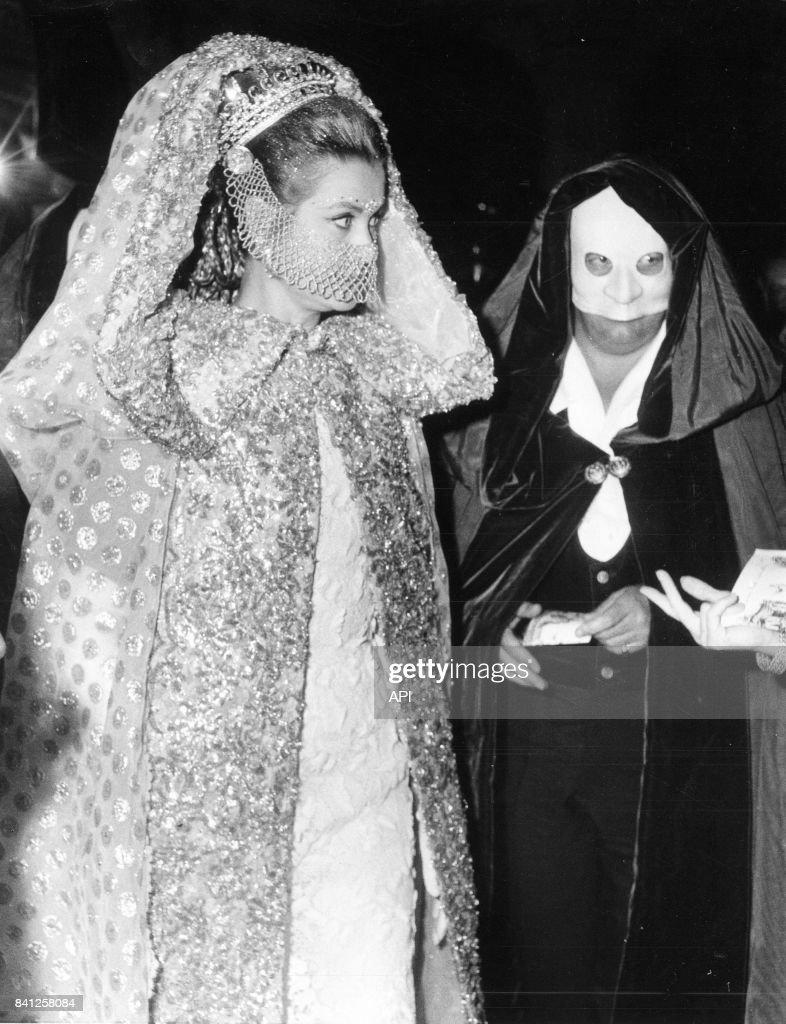 Grace de Monaco à un bal masqué : News Photo