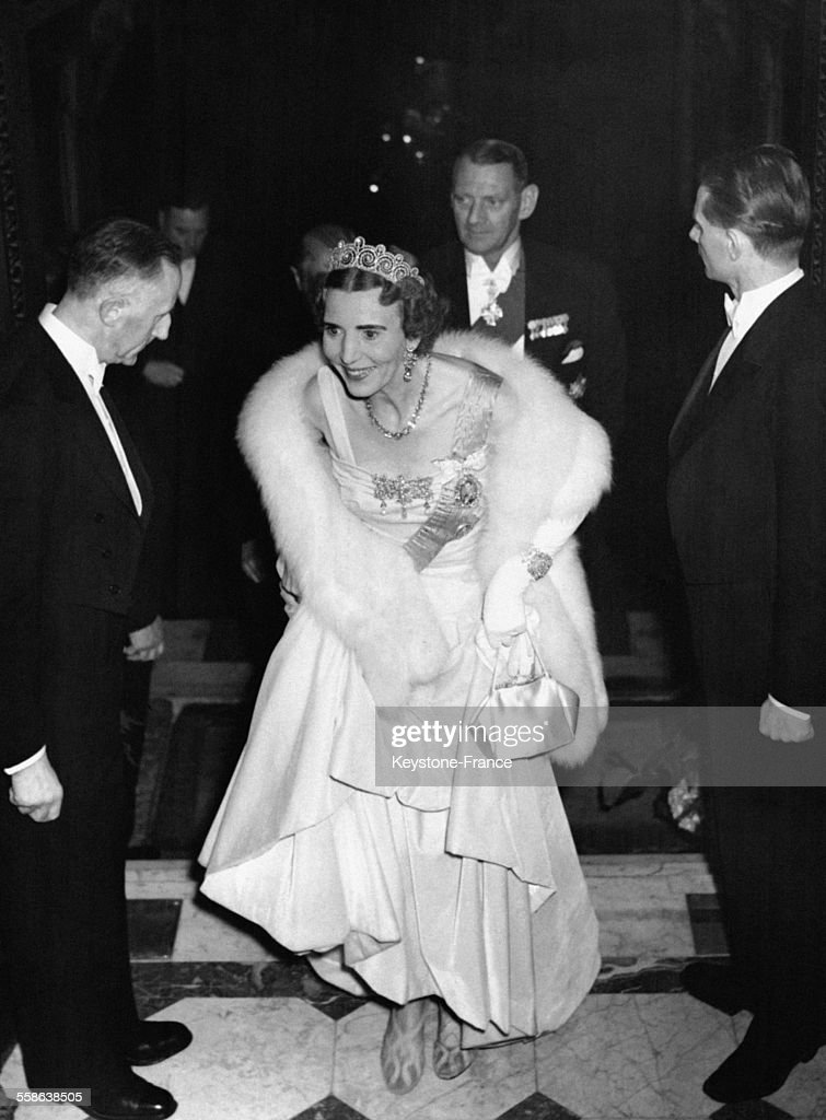 Visite Du Couple Royal Danois A Paris : News Photo