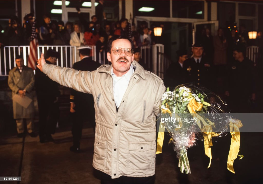 After being held hostage by Islamic Jihad for 6 years, American journalist Terry Anderson is released in 1991.