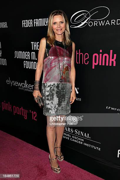 arrives at Elyse Walker presents the 8th annual Pink Party hosted by Michelle Pfeiffer to benefit CedarsSinai Women's Cancer Program held at HANGAR8...