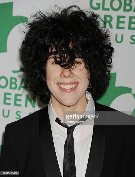 P arrives at Global Green USA's 10th Annual PreOscar party at Avalon on February 20 2013 in Hollywood California
