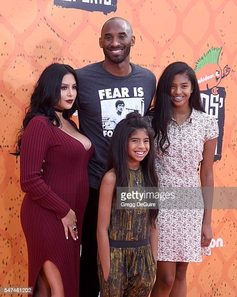 arrives at Nickelodeon Kids' Choice Sports Awards 2016 at UCLA's Pauley Pavilion on July 14 2016 in Westwood California