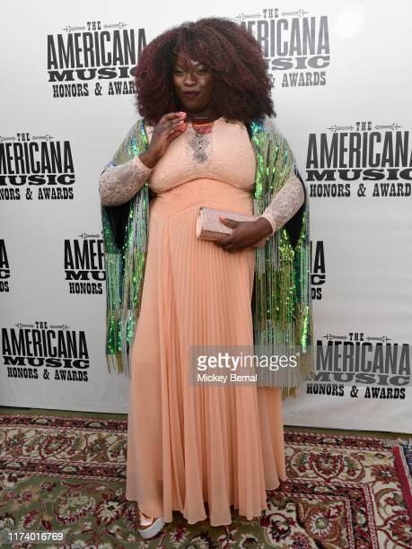YOLA arrives at the 18th Annual Americana Honors Awards at Ryman Auditorium on September 11 2019 in Nashville Tennessee