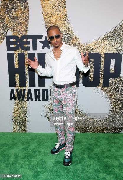 I arrives at the BET Hip Hop Awards 2018 at Fillmore Miami Beach on October 6 2018 in Miami Beach Florida