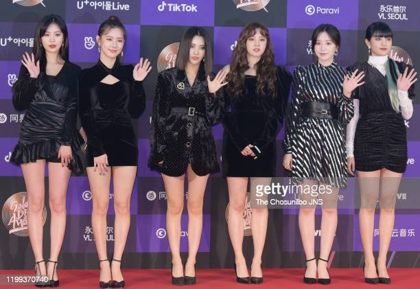 Arrives at the photocall for the 34th Golden Disc Awards on January 05, 2020 in Seoul, South Korea.