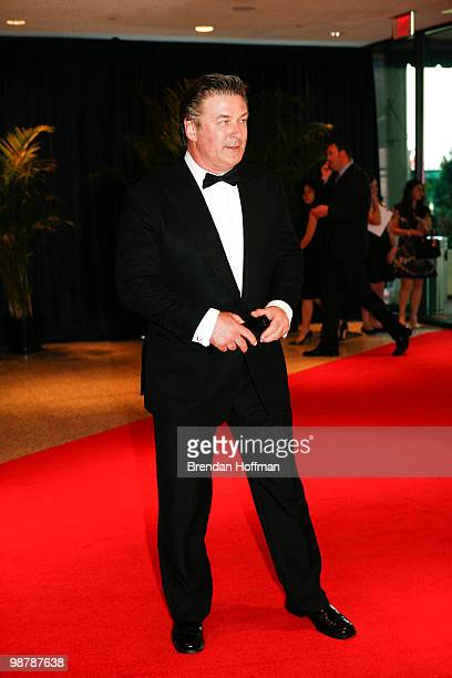 arrives at the White House Correspondents' Association dinner on May 1 2010 in Washington DC The annual dinner featured comedian Jay Leno and was...