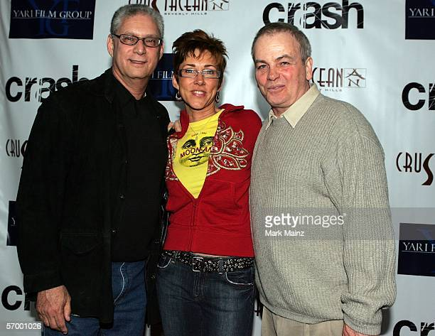 EXCLUSIVE arrives at the Yari Film Group Crash Academy Party at the Crustacean Restaurant on March 4 2006 in Beverly Hills California