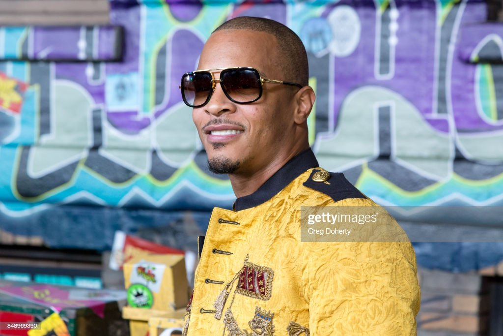 T.I. arrives for VH1's Hip Hop Honors: The 90's Game Changers at Paramount Studios on September 17, 2017 in Hollywood, California.