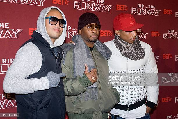 D Arrives to BET's Rip the Runway 2008 event at Hammerstein Ballroom on Februrary 21 2008 New York