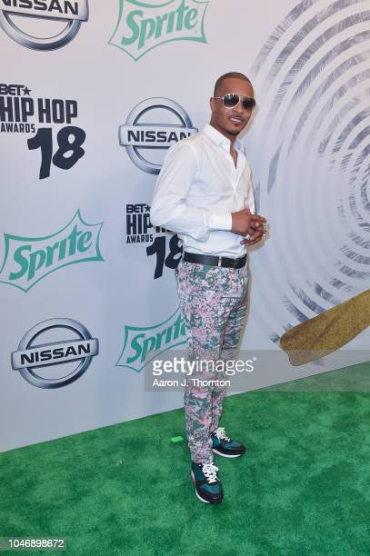 I arrives to the BET Hip Hop Awards at the Fillmore Miami Beach on October 6 2018 in Miami Beach Florida