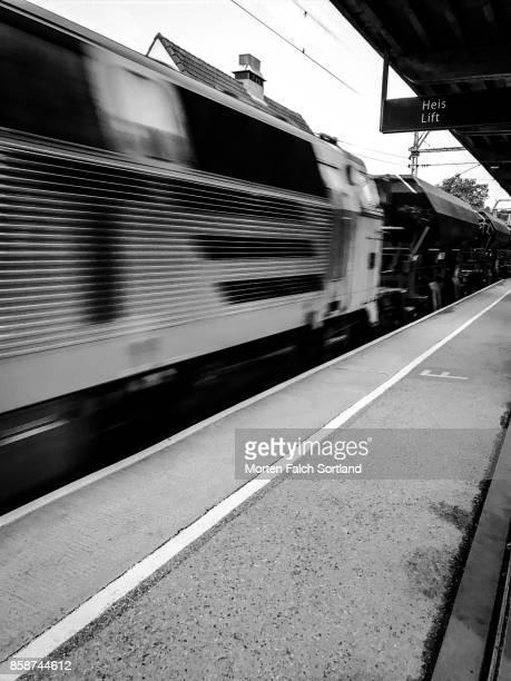 Arriving at a Stockholm Station