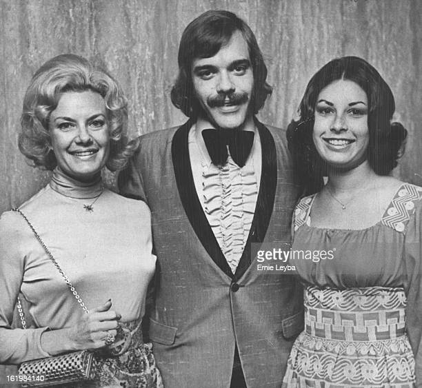 NOV 9 1972 NOV 10 1972 Arriving at Bonfils Theatre on Thursday included Mrs Seymour Laff left and the Alan Laffs Theatre guests at performance of...