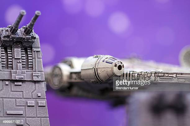 arriving from the wars - han solo stock photos and pictures