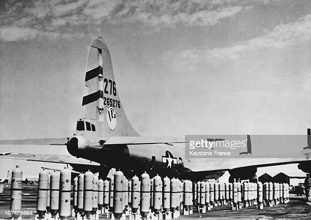 Arriving Of The B 29 Superfortress, At The Airport In India