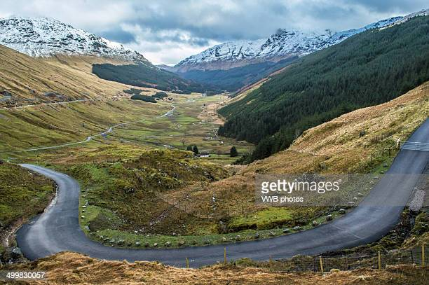 Arrochar Alps from Rest and be Thankful, Glen Croe