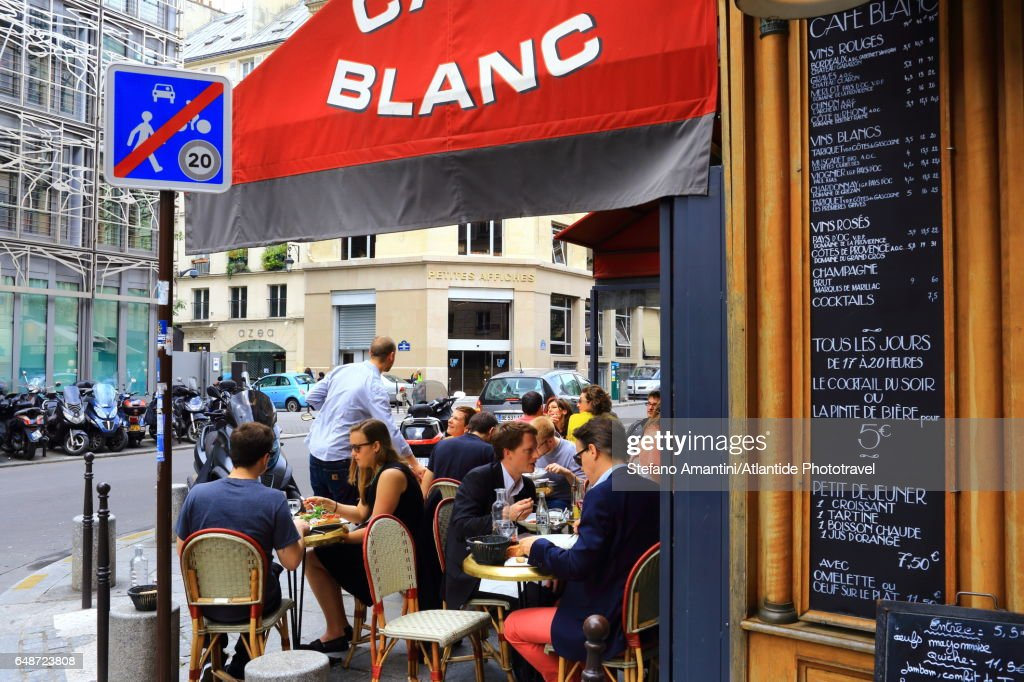 II arrondissement, city life : Stock Photo