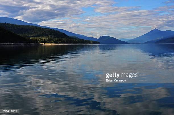 Arrow lakes sky reflection