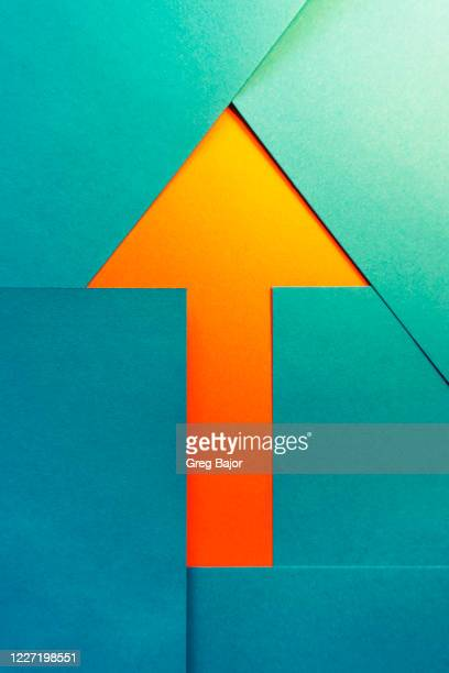 arrow - greg bajor stock pictures, royalty-free photos & images